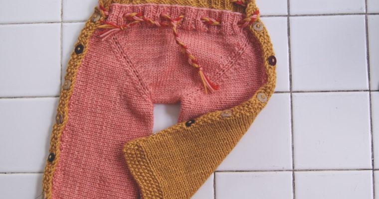 Baby wrap pants