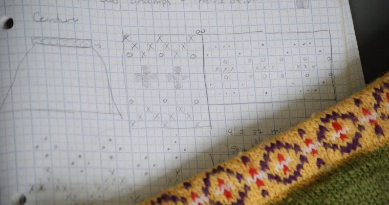 Imaginer son tricot: créer ses propres motifs de couleur