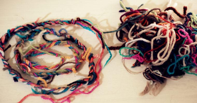 Les restes de laine, un bon isolant