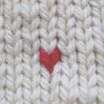 Broder des mailles de tricot