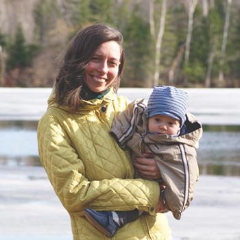 Maude Design et bébé