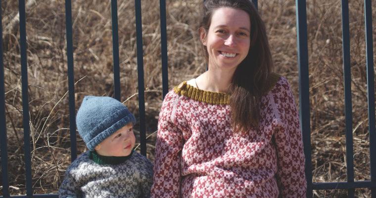 Futé, un chandail pour bébés, enfants et femmes