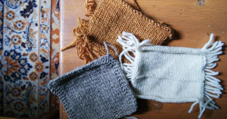 Pourquoi et comment tricoter un échantillon?
