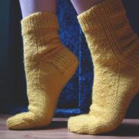 Tricoter le talon d'un bas (méthode traditionnelle)